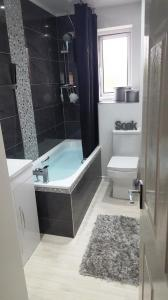 Black Silver Bathroom